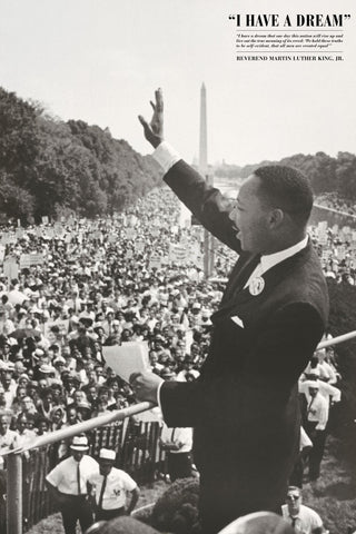 King: I Have a Dream -  Celebrity Photography - McGaw Graphics