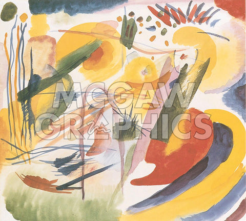 Without Title -  Wassily Kandinsky - McGaw Graphics