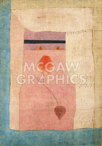 Arabian Song, 1932 -  Paul Klee - McGaw Graphics