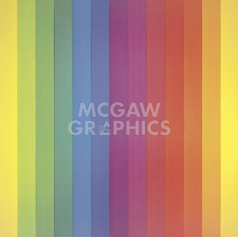 Ellsworth Kelly - Spectrum IV