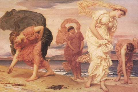 Frederic Leighton - Greek Girls Picking up Pebbles