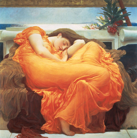 Frederic Leighton - Flaming June