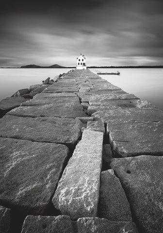 Breakwater Light -  Moises Levy - McGaw Graphics