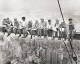 Lunch on a Skyscraper, 1932 -  Charles C. Ebbets - McGaw Graphics