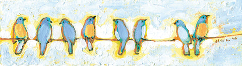 Eight Little Bluebirds -  Jennifer Lommers - McGaw Graphics