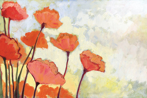 Poppies in Cream -  Jennifer Lommers - McGaw Graphics