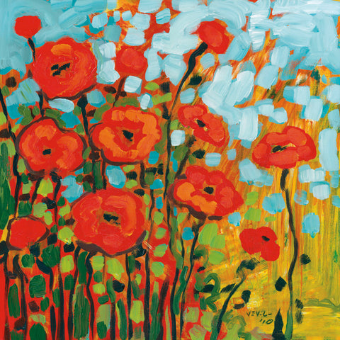 Red Poppy Field -  Jennifer Lommers - McGaw Graphics