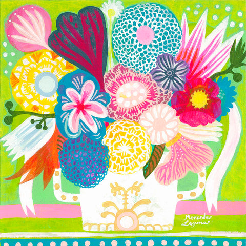 Flowers n. 15 -  Mercedes Lagunas - McGaw Graphics