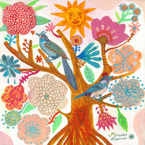Sun Tree -  Mercedes Lagunas - McGaw Graphics