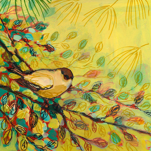 Goldfinch Resting -  Jennifer Lommers - McGaw Graphics