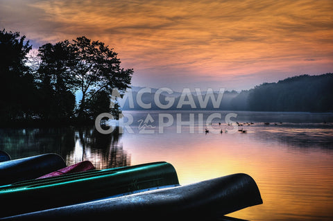 French Creek Sunrise -  Robert Lott - McGaw Graphics