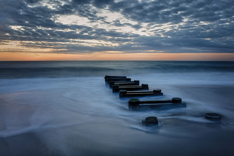 Robert Lott - Outfall at Sunrise #4