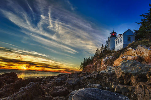 Bass Harbor Lighthouse -  Robert Lott - McGaw Graphics