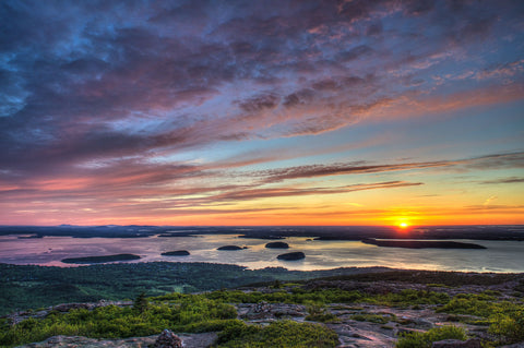 Acadia Sunrise -  Robert Lott - McGaw Graphics