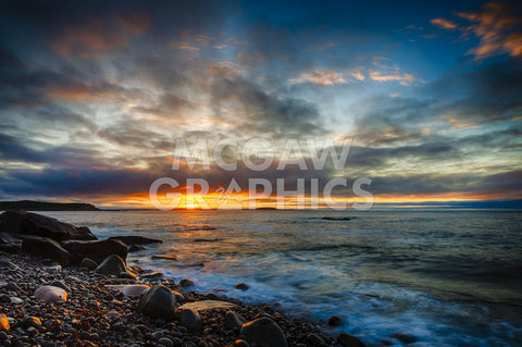 Sunrise on Boulder Beach -  Robert Lott - McGaw Graphics