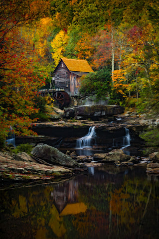 Glade Creek Mill -  Robert Lott - McGaw Graphics