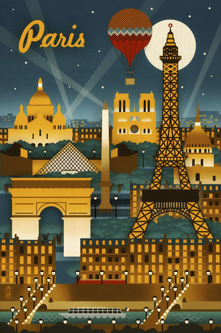 Paris -  Lantern Press - McGaw Graphics