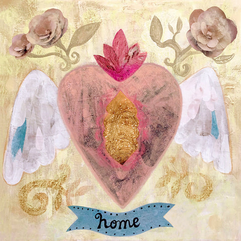 Home Heart -  Mercedes Lagunas - McGaw Graphics