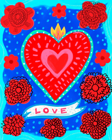 Love -  Mercedes Lagunas - McGaw Graphics