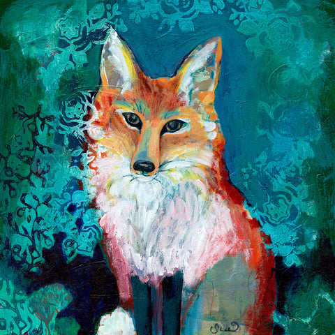 Shy Fox -  Jennifer Lommers - McGaw Graphics