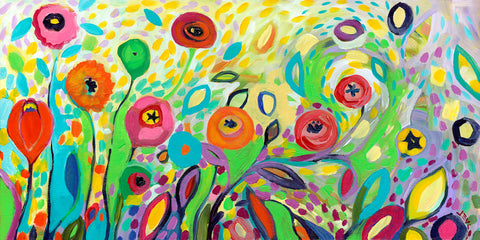 Flower Garden Jazz -  Jennifer Lommers - McGaw Graphics