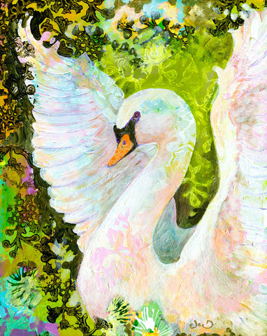Swan -  Jennifer Lommers - McGaw Graphics