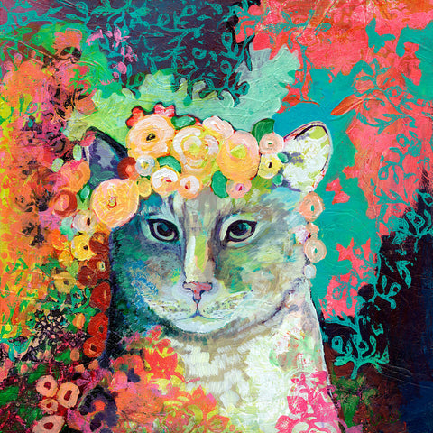 My Cat Naps in a Bed of Roses -  Jennifer Lommers - McGaw Graphics