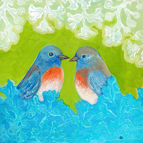 Jennifer Lommers - Bluebirds in Love