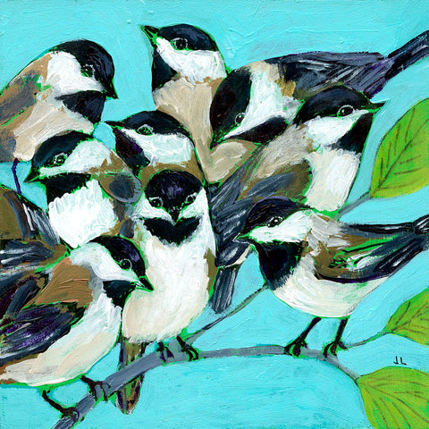 Too Many Chickadees -  Jennifer Lommers - McGaw Graphics
