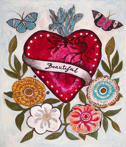 Beautiful Heart -  Mercedes Lagunas - McGaw Graphics