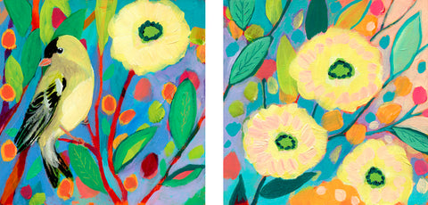 Goldfinch Garden -  Jennifer Lommers - McGaw Graphics