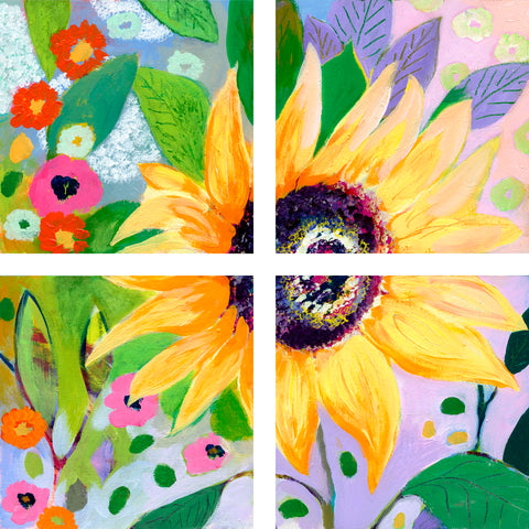 Sunflower Garden -  Jennifer Lommers - McGaw Graphics