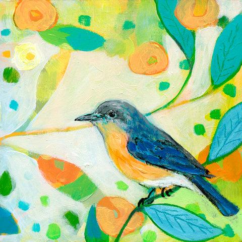 Eastern Bluebird -  Jennifer Lommers - McGaw Graphics