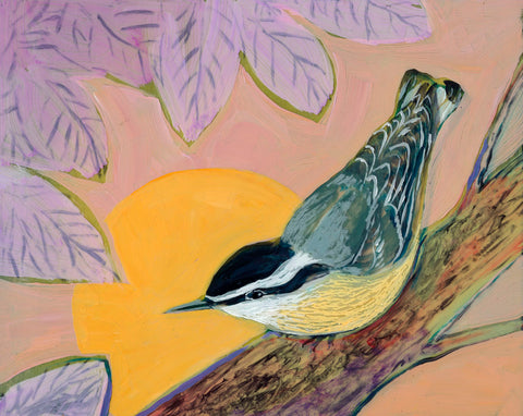 Jennifer Lommers - Evening Nuthatch