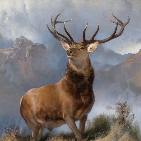 Edwin Landseer - The Monarch of the Glen, 1851