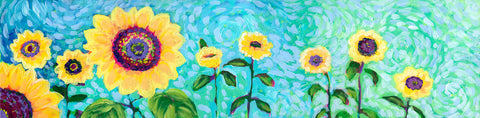 Sunflower Field -  Jennifer Lommers - McGaw Graphics