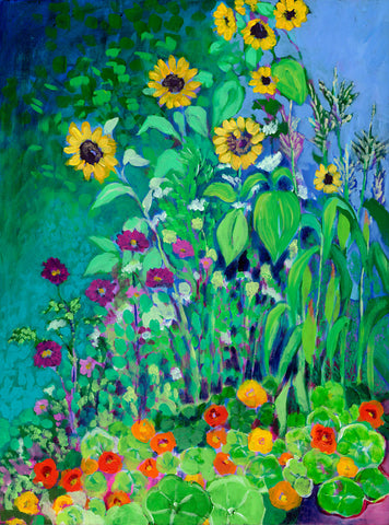 A Garden View -  Jennifer Lommers - McGaw Graphics