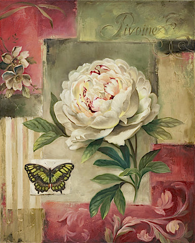 Peony and Butterfly -  Lisa Audit - McGaw Graphics