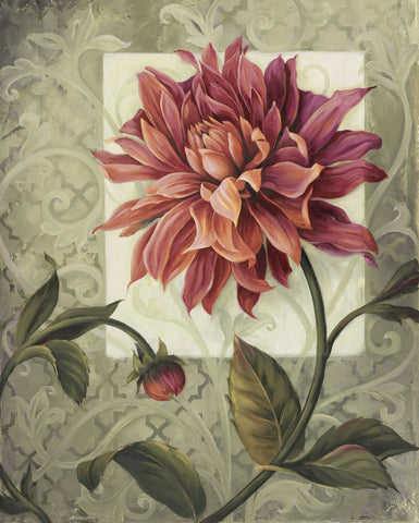 Trellised Dahlia -  Lisa Audit - McGaw Graphics