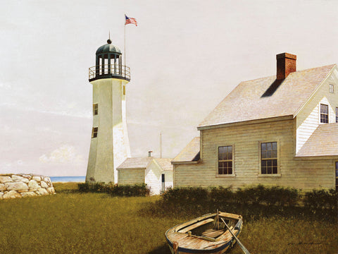 Point Lookout, Maine -  Zhen-Huan Lu - McGaw Graphics