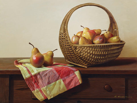 Still Life with Pears -  Zhen-Huan Lu - McGaw Graphics