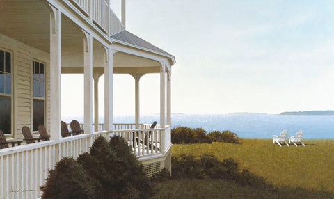 Porch View -  Zhen-Huan Lu - McGaw Graphics