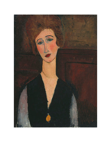 Portrait of a Woman, c.1917-1918