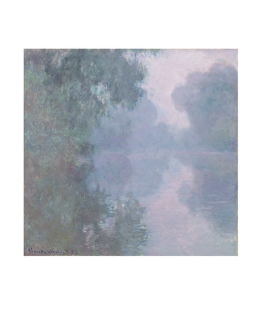 The Seine at Giverny, Morning Mists, 1897