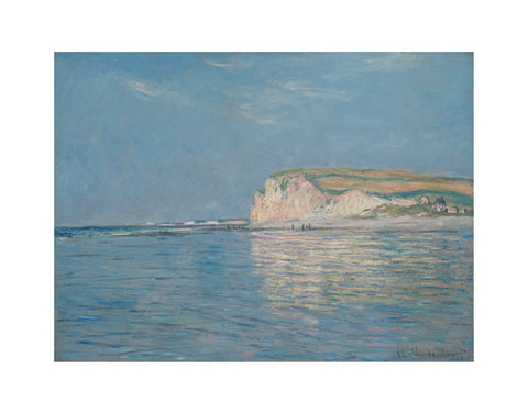 Low Tide at Pourville, near Dieppe, 1882 -  Claude Monet - McGaw Graphics