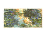 The Water Lily Pond, 1918 -  Claude Monet - McGaw Graphics