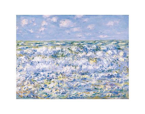 Waves Breaking -  Claude Monet - McGaw Graphics