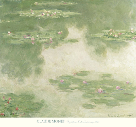 Nympheas, Water Landscape, 1907