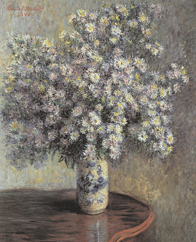 Claude Monet - Asters, 1880