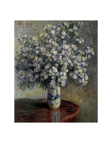 Asters, 1880 -  Claude Monet - McGaw Graphics